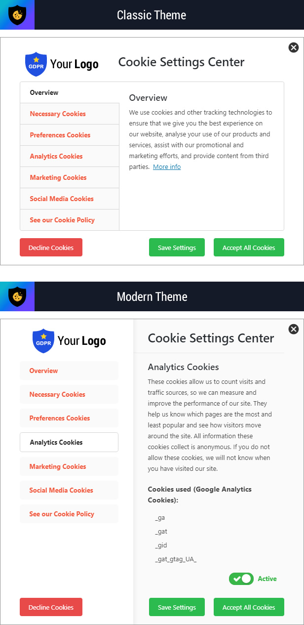 Cookie Plus GDPR - Cookies Consent Solution for WordPress. Master Popups Addon - 10